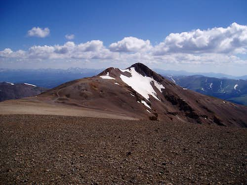 Mt. Lincoln from Mt. Cameron