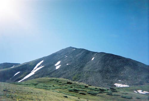 Huron Peak- last peak of the Sawatch Range