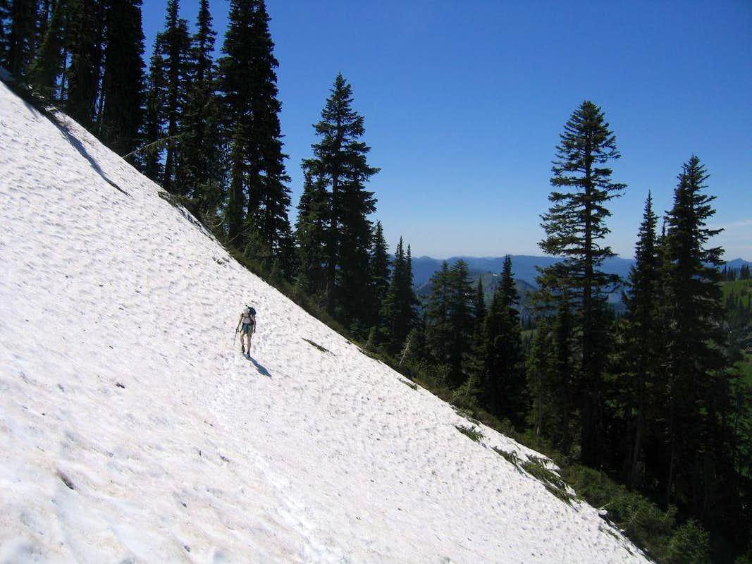 Snowbound trail