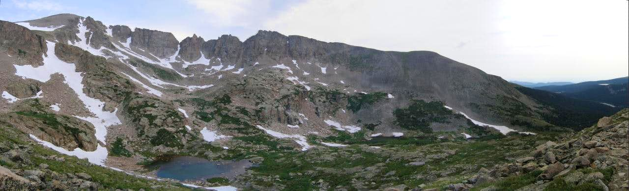 Panorama of Pawnee's East Ridge