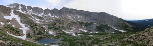 Panorama of Pawnee\'s East Ridge