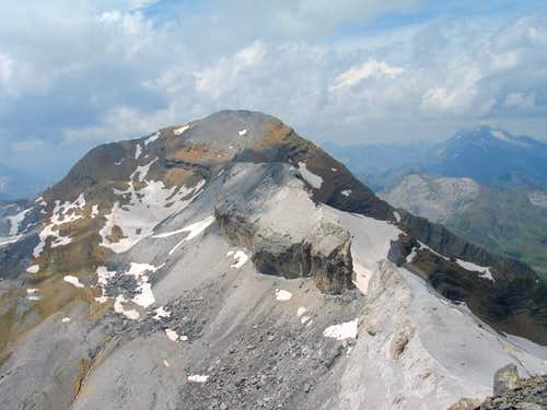 Le Taillon (3144m) and...