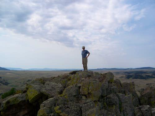 Golden Eagle on Eagle Rock