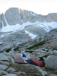 Camping at Secret Lake