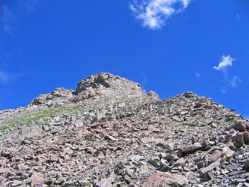 Adams summit block