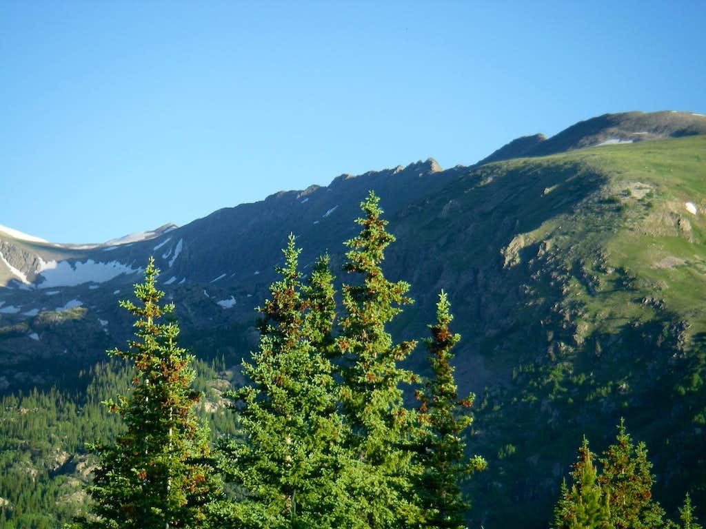Pacific Peak's East Ridge