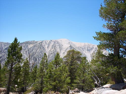 East Face of Mount San Gorgonio