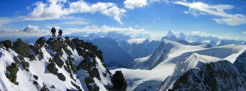 Panorama: Summit, Matterhorn & Co