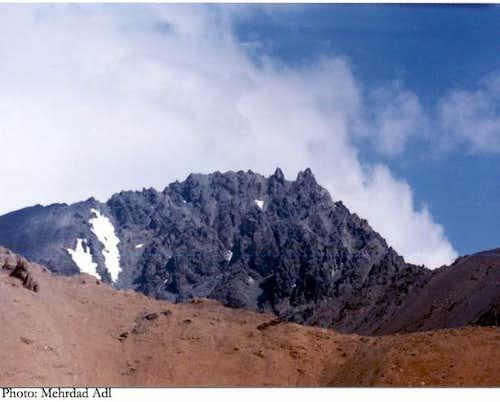 Siah sang summit, view from...