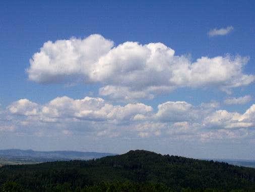 Clouds above Mount Zamczyska
