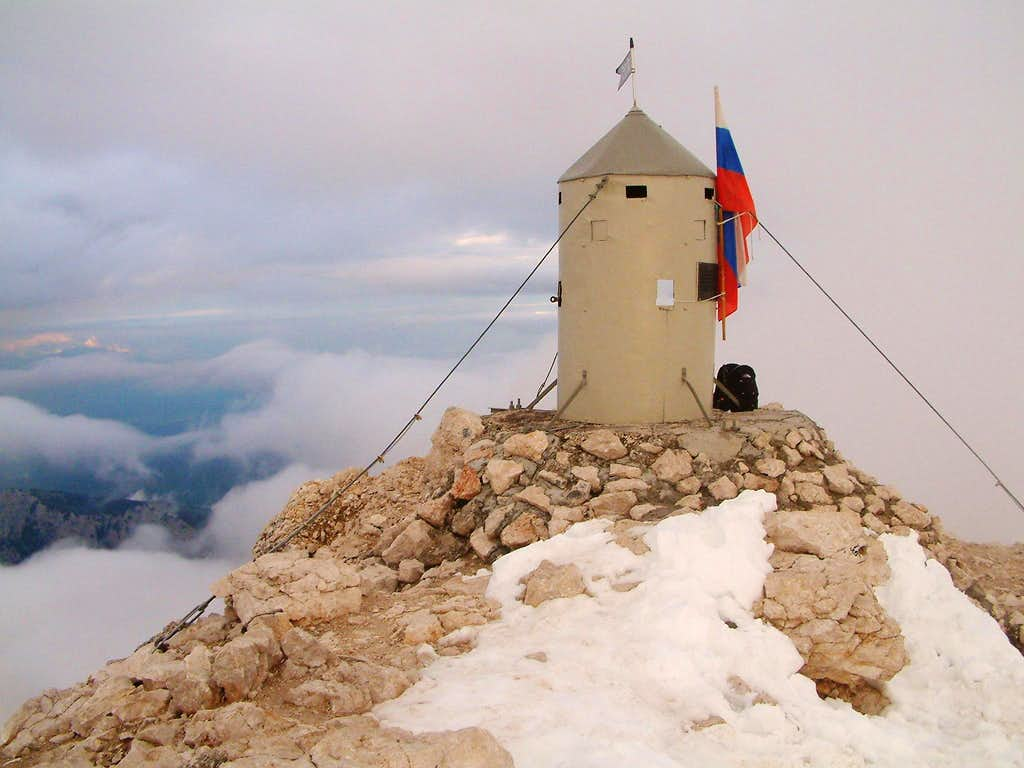 Summit Tower of Triglav