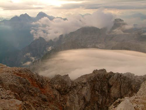 Cloud Descending from Triglav