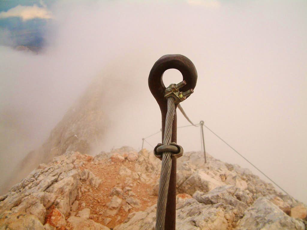 Cables on Triglav