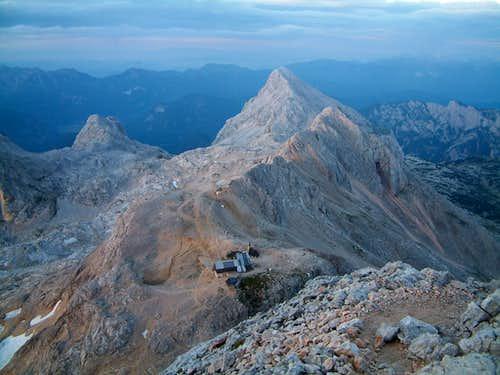 Hut Views on Triglav