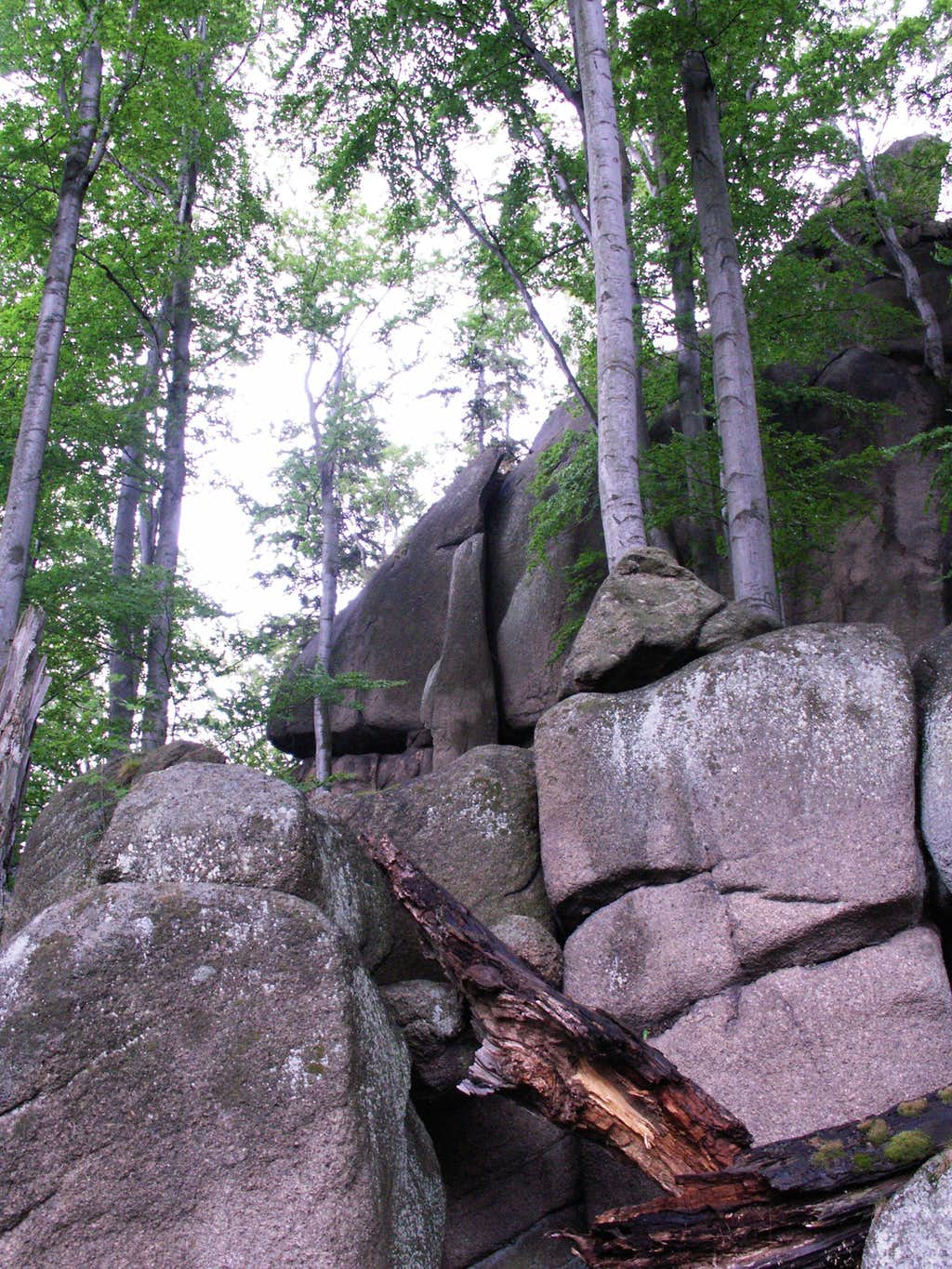 These boulders...