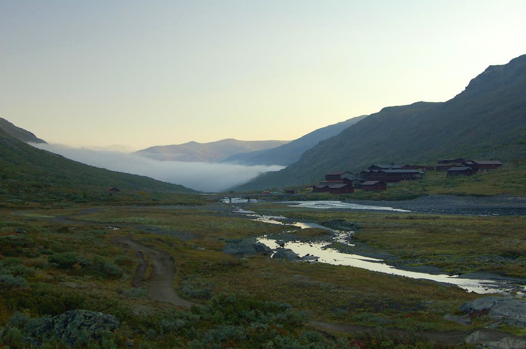 Early Morning at Spiterstulen (1100m)
