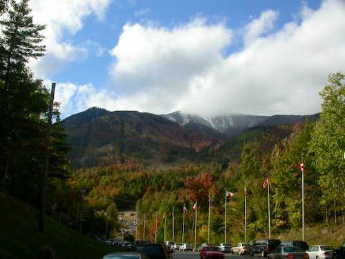 Whiteface Mountain ski area...