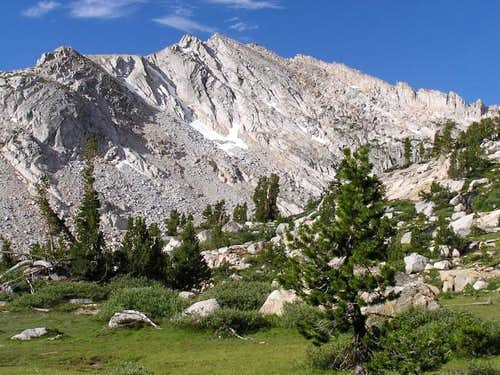 White Mountain from the hike...