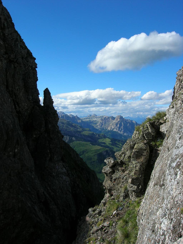 View from La Mesola