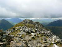 The summit of Stob Dubh