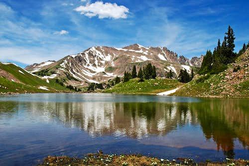 Red Peak Reflection