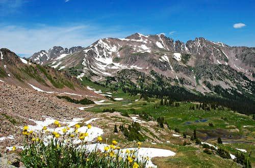 Red Peak & West Demming & Uneva Peak
