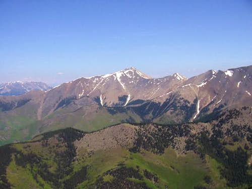 Cottonwood Peak from the...