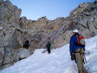 approaching Glacier Notch