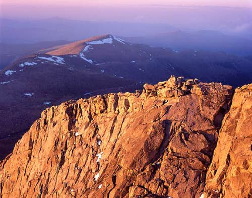 From the summit of Mt Evans,...