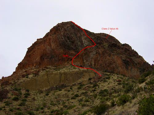 East Face