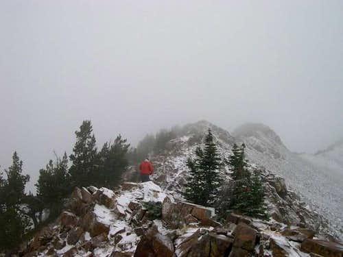 Scrambling the SE Ridge...