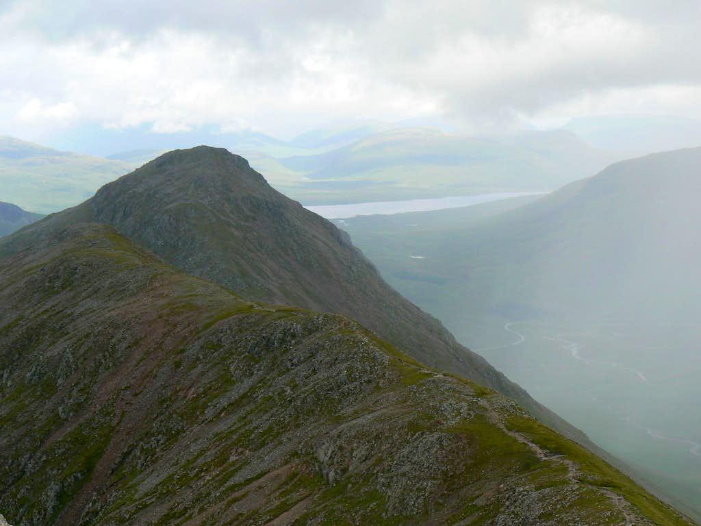 Buachaille Etive Beag's ridge..