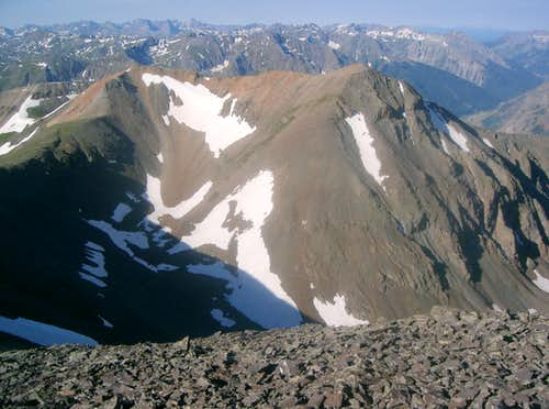 "Crown Mountain & ""North Crown Mountain"""