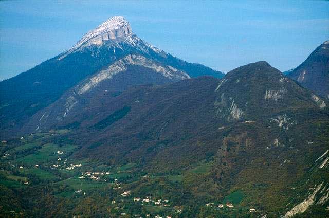 Chamechaude summit from Vercors