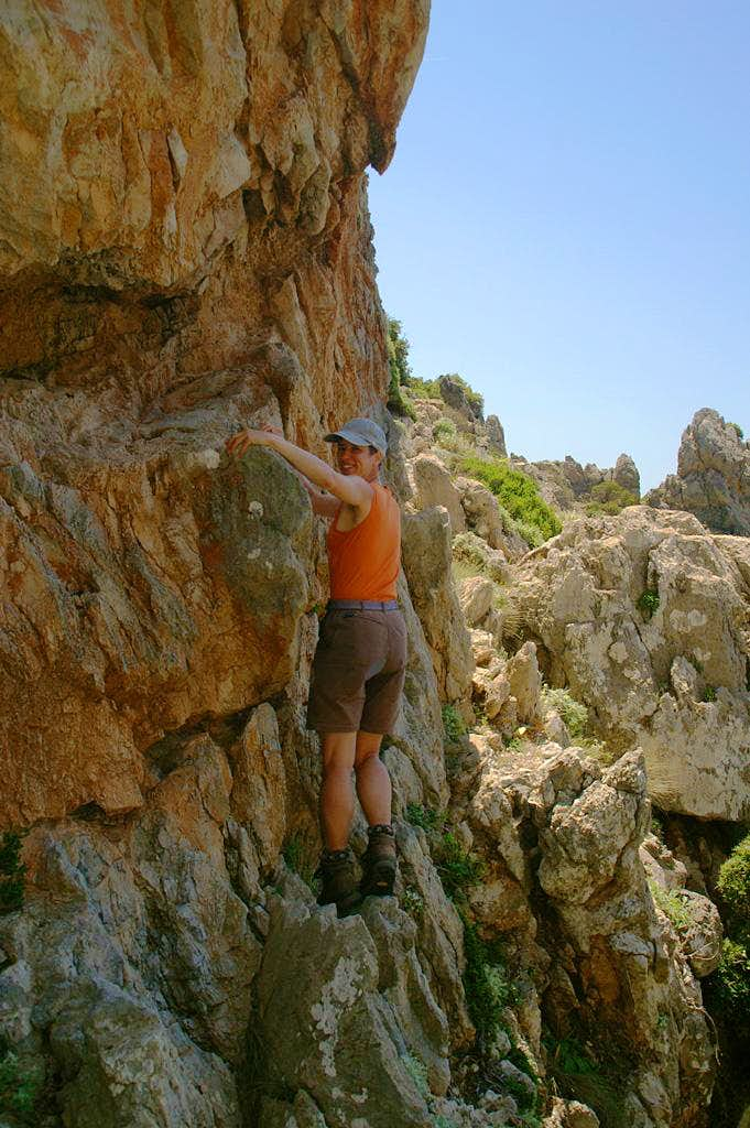 Pirates in the Mediterranean (A Rocky Scramble in Crete's Wild West)