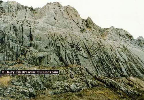 The face of Carstensz. The...