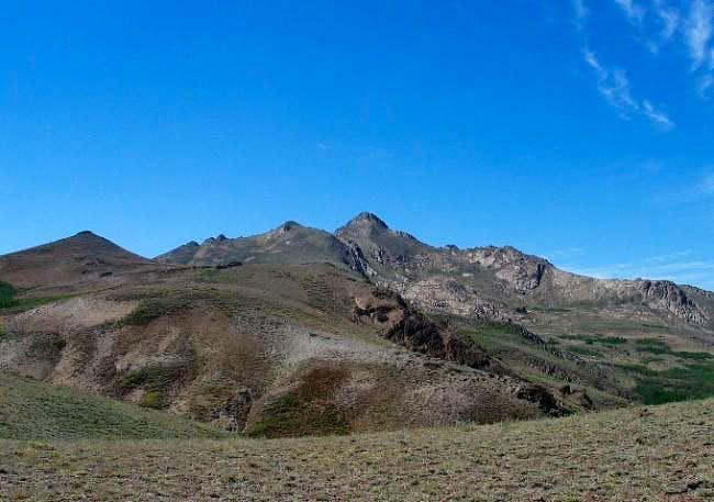 Granite Peak is the center...
