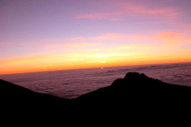Sunrise on Mawenzi (september...