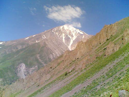 DAMAVAND NE route