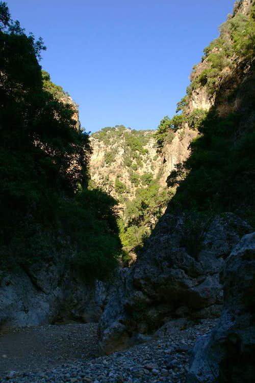 Diktanos Gorge