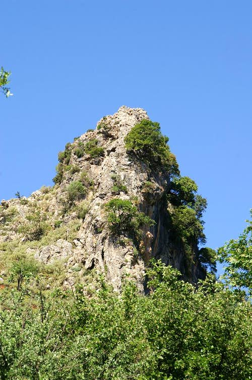 Rocky Tower above the Gorge