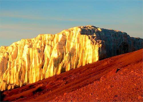 Kilimanjaro - Rebmann Glacier...