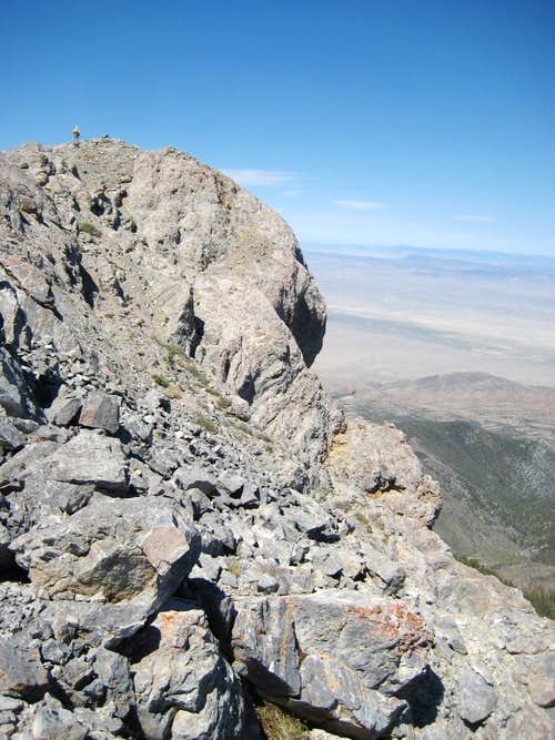 View W to Summit of Troy