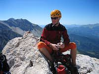 Meditating on the summit...