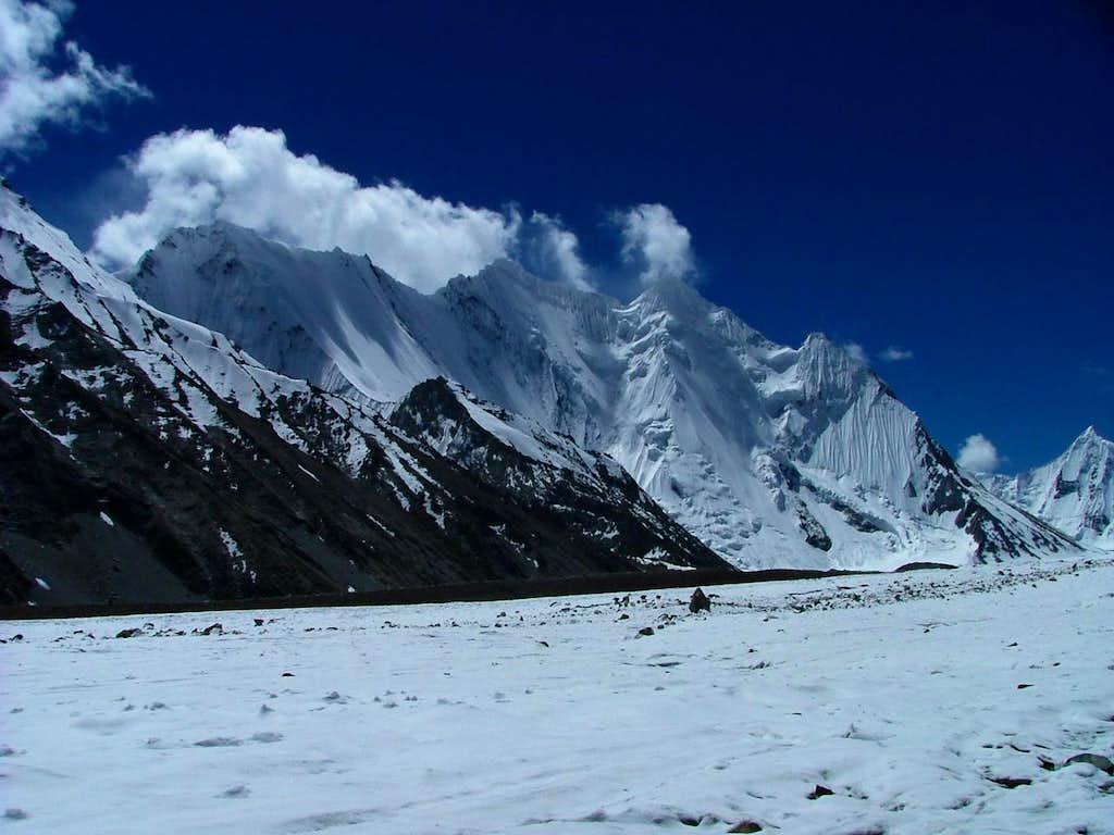 Chogolisa Peaks, Karakoram Baltistan