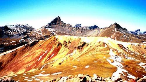 Wetterhorn and Matterhorn...