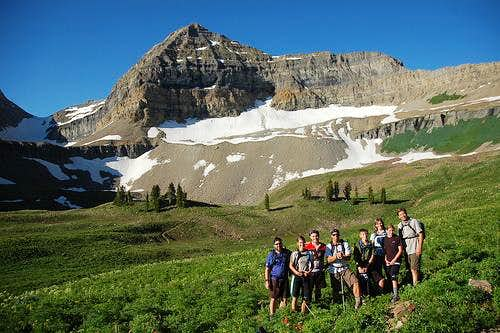 Group at Timp