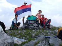 Malji i Shen Niku 2554m (Maja Shnikut, St. Nikola's peak, Vrh Sv.Nikole)