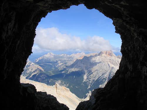 A Dolomites  window