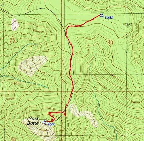 York Butte